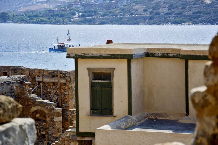 In the island of absence: Spinalonga, Crete
