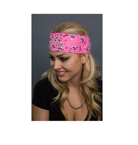 Cancer Awareness Road Wrap with Crystal Embellishments Head Wrap Headband   | eBay