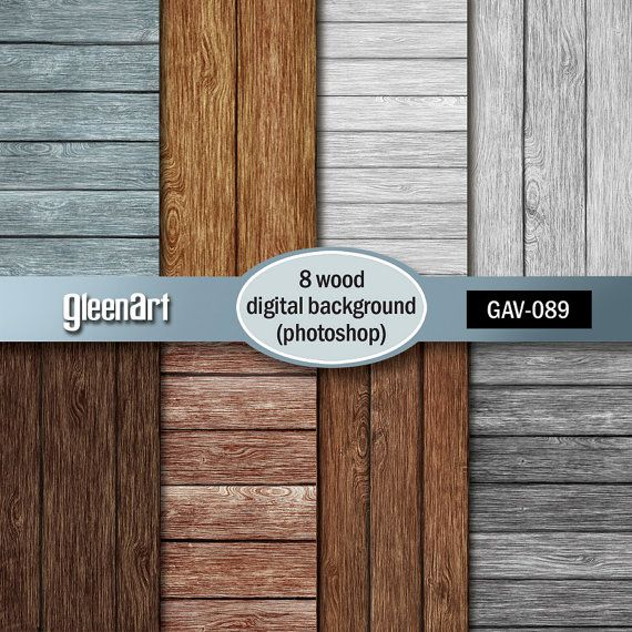 50% Off Sale-Wood digital paper Wood background Wood by GleenArt