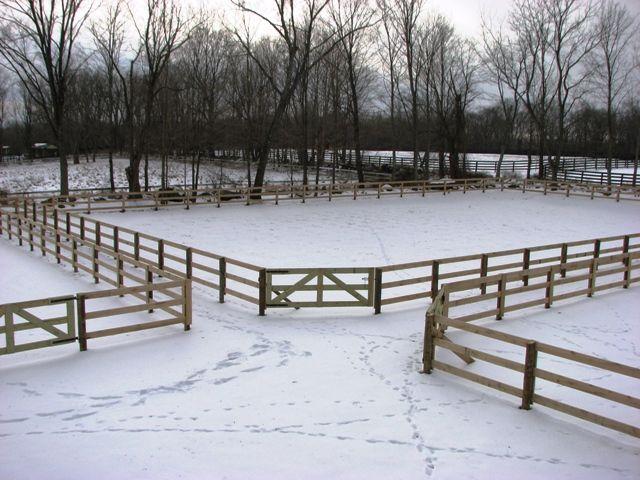 3-Rail Horse Fencing