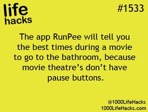 Love it!!!  www.runpee.com