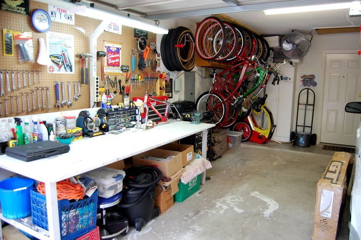 Hanging bike storage