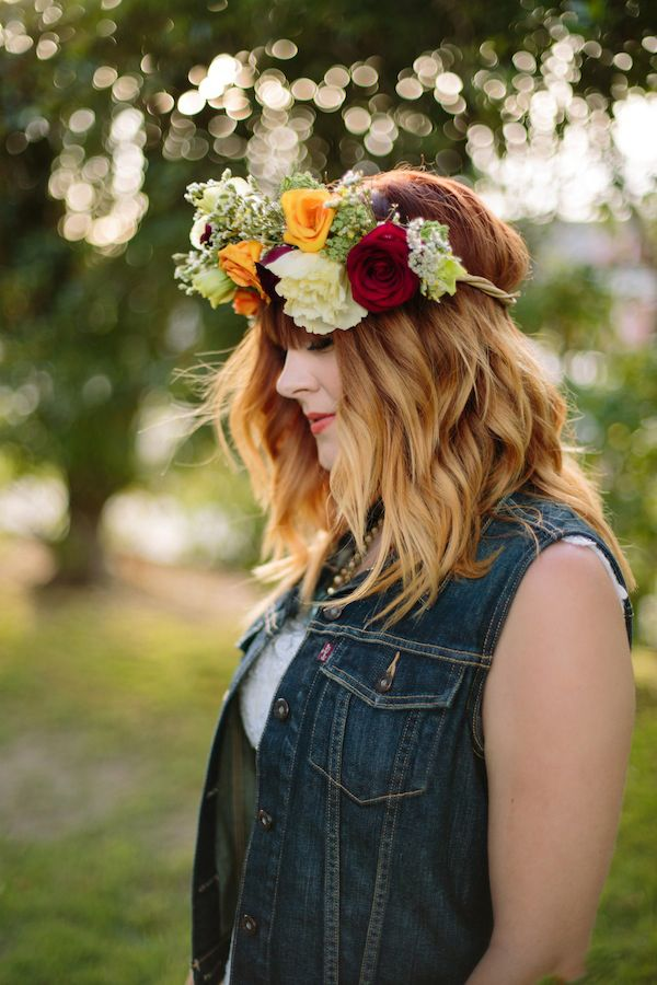 i want to be buried in my denim jacket. this should be me. #denim http://www.weddingchicks.com/2013/11/19/hipster-bride-and-groom/