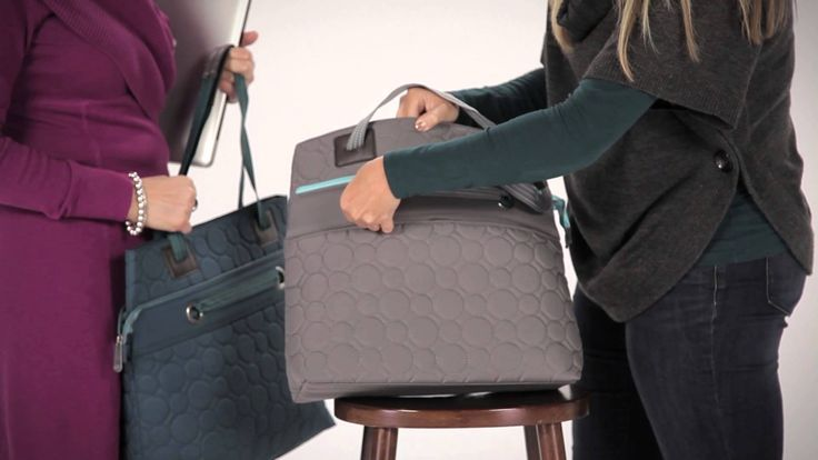 The Vary You Versatile Bag keeps you organized on the go!