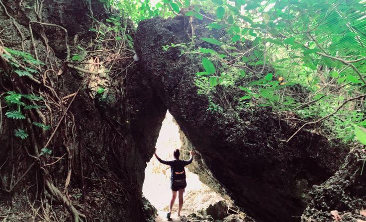 Kawayyan village in philippines- tacloban 😍... higatangan island .. Rock formations..
