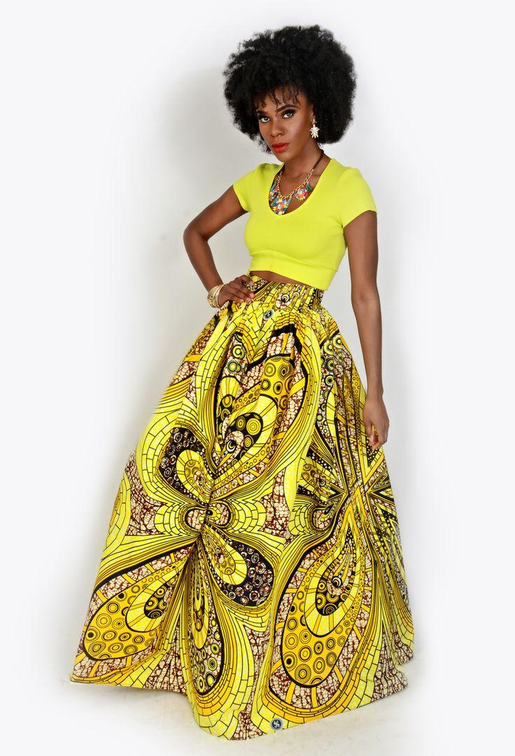 Amazing yellow print