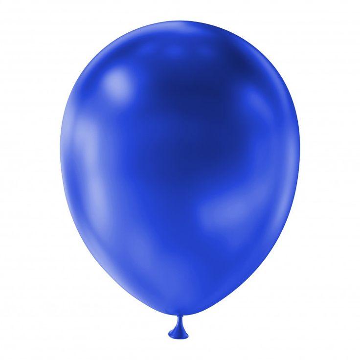 Deze metallic donker blauwe ballonnen zijn verpakt per 100 stuks. De blauwe ballonnen zijn geschikt voor het vullen met lucht en helium. Opgeblazen zijn de ballonnen ongeveer 33 centimeter groot, verticaal gemeten vanaf het tuitje van de ballonnen. De maat van de ballonnen is vergelijkbaar