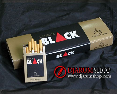 Djarum Black Cappuccino was the very first cappuccino-flavored kretek cigarette to be invented. Djarum Black Cappuccino continues the Djarum Black tradition of a smart, unique and innovative brand: a cigarette for the creative, sophisticated crowd.