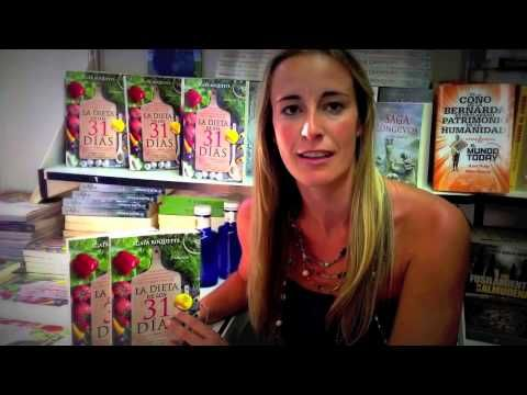 La nutricionista Ágata Roquette presenta La dieta de los 31 días desde la Feria del libro de Madrid. - YouTube