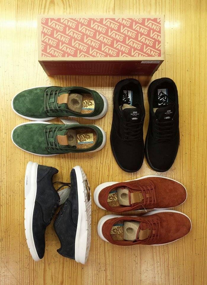 Τα νέα παπούτσια ISO της εταιρείας Vans