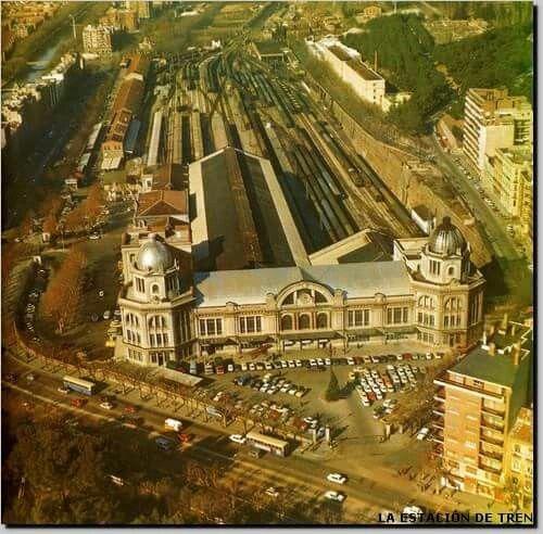 Antigua estación de Principe Pio. Madrid. Spain.