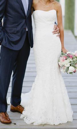 Used Enzoani Wedding Dress Casablanca , Size 2  | PreOwnedWeddingDresses.com