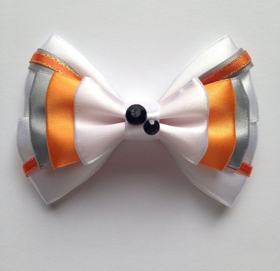 BB8 Droid Star Wars Inspired Hair Bow by emporiumonmain on Etsy