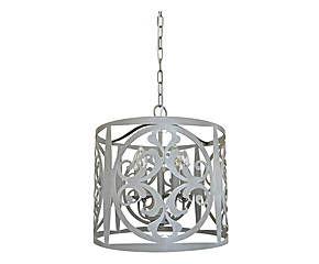 Lámpara de techo en hierro -gris