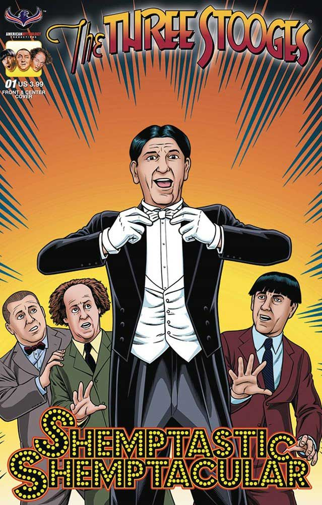 Three Stooges Shemp Comic Book Available Now! Shemptastic Shemptacular