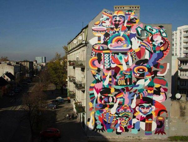 Juxtapoz Magazine - 3TTMAN @ Fundacja Urban Forms