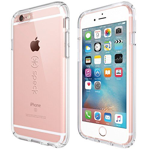 Speck Products CandyShell Case for iPhone 6/6S - Retail Packaging- Clear/Clear - www.rekomande.com...