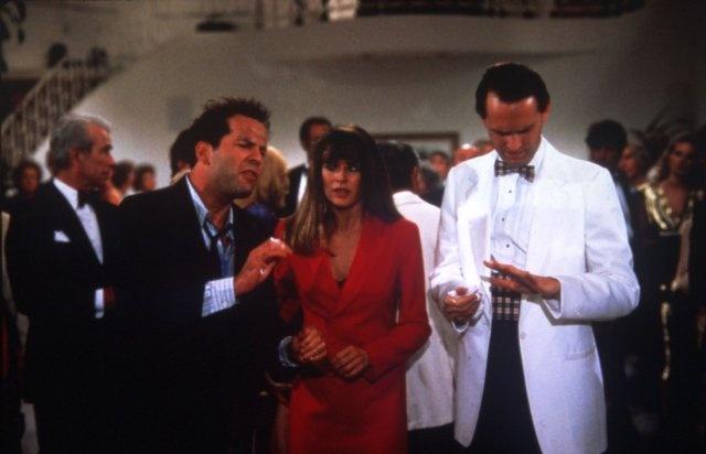 Kim Basinger and Bruce Willis in Blind Date