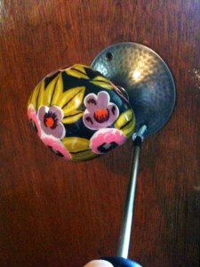 Replacing An Interior Door Knob With A Vintage One.or One Of The Fantastic  Knobs From Anthropologie, Hobby Lobby, Etc!