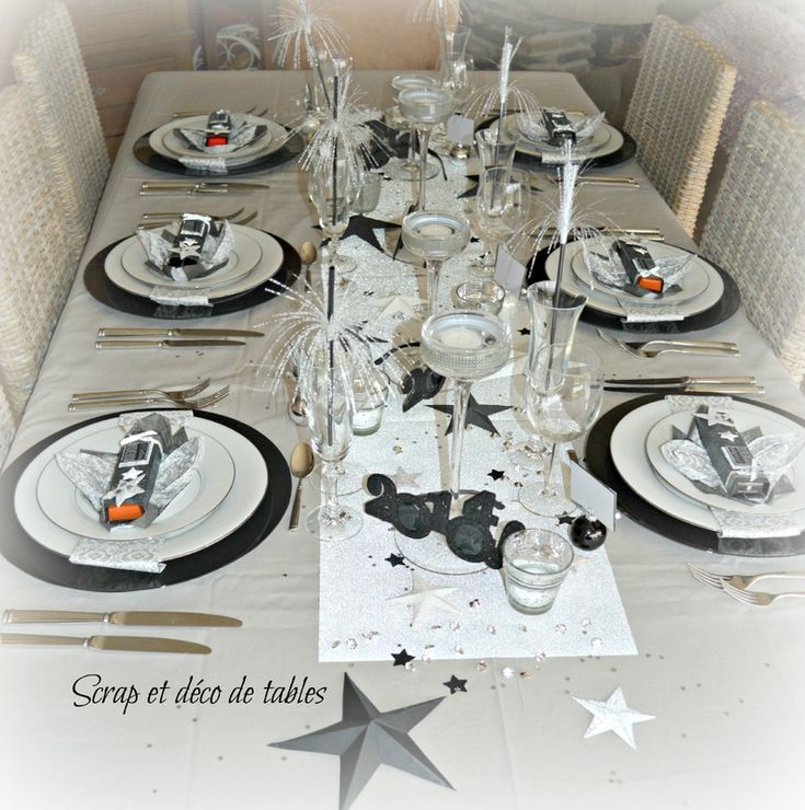 Best 20 deco table nouvel an ideas on pinterest idee - Deco table reveillon nouvel an ...