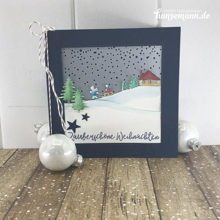 Meine Kreativbox Weihnachtszauber – heute Ideen von mir