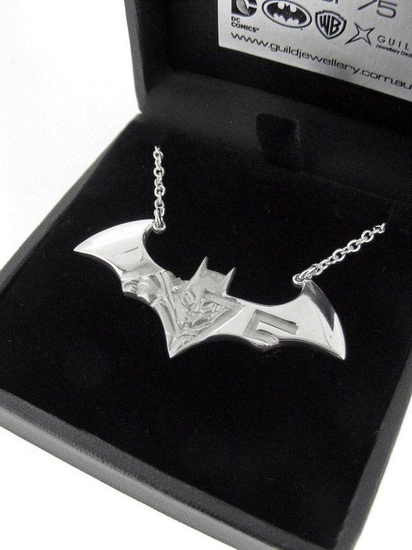 Batman 75th Anniversary Necklace