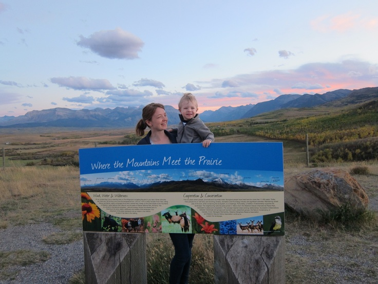 Where the mountains meet the prairies!  Part One - a teaser post of our time in Waterton.