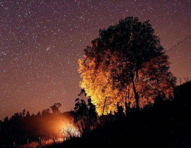 FOTOS DE NUESTROS AMIGOS Astrofotografía desde Colombia. Mónica Lascano nos envío esta linda imagen. Los detalles de cómo y dónde se tomó la imagen, en el link.