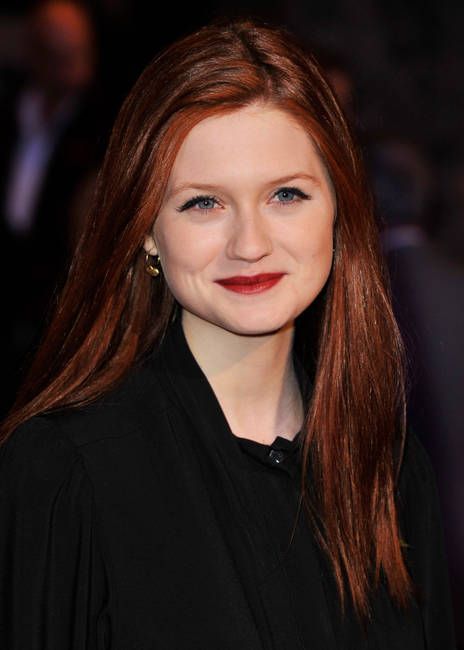 Bonnie Wright (February 17, 1992) British actress, model, screenwriter, director and producer.