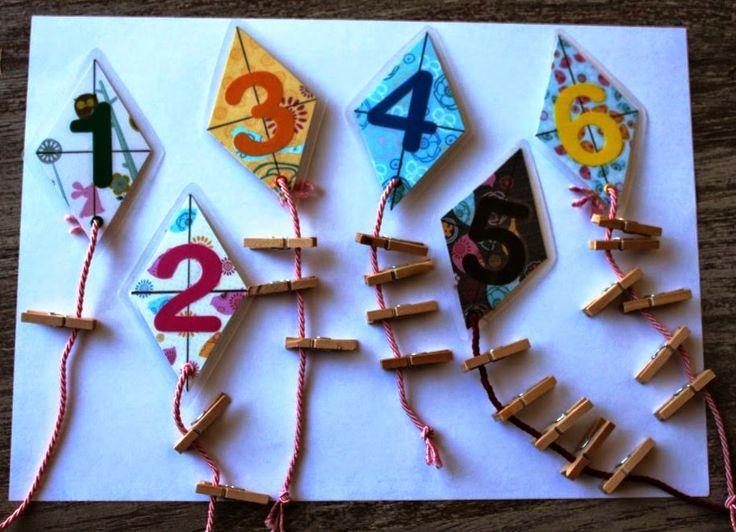 Le verger d'Elisa in a Montessori World: Accompagner la période sensible des nombres à la maison
