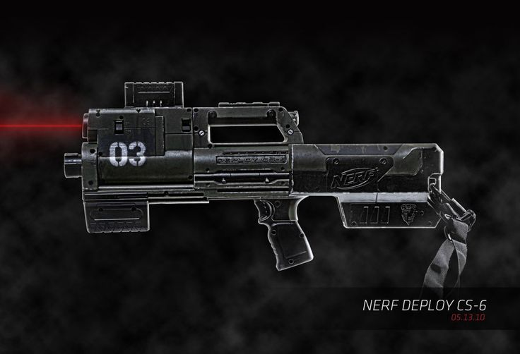 Nerf Deploy Mod by ~meandmunch