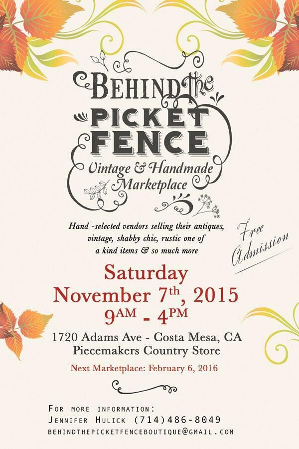 Marketplace November In Costa Mesa Over 65 Vendors Selling Shabby Chic Vintage Re Purposed Rustic Home Decor And Handmade Items Adams Ave