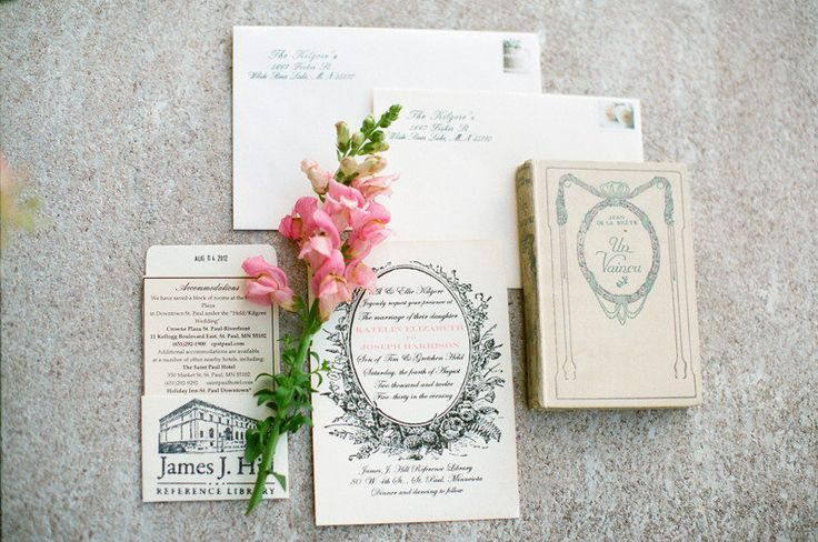 St. Paul Library Wedding from Laura Ivanova Photography  Read more - http://www.stylemepretty.com/2012/12/06/st-paul-library-wedding-from-laura-ivanova-photography/