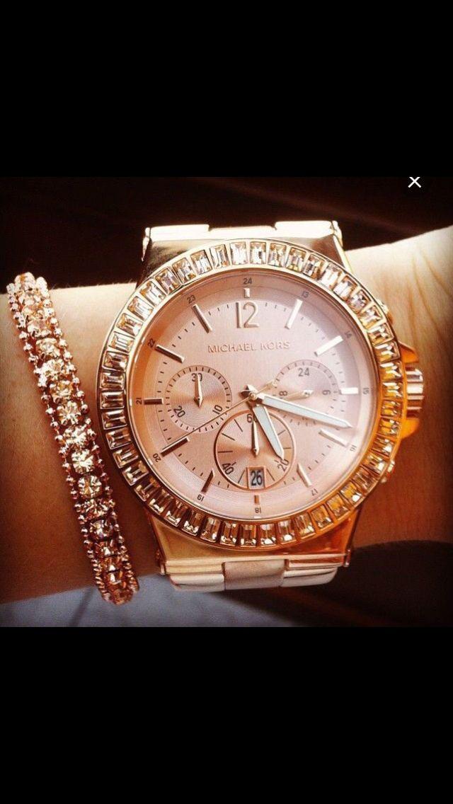 Beautiful Micheal Kors watch  36c5481a4