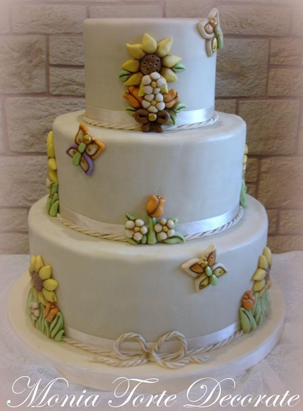 torta thun girasoli - Cerca con Google