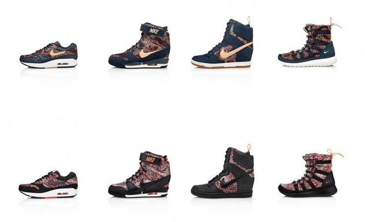 Nike x Liberty Sneakerboot Collection