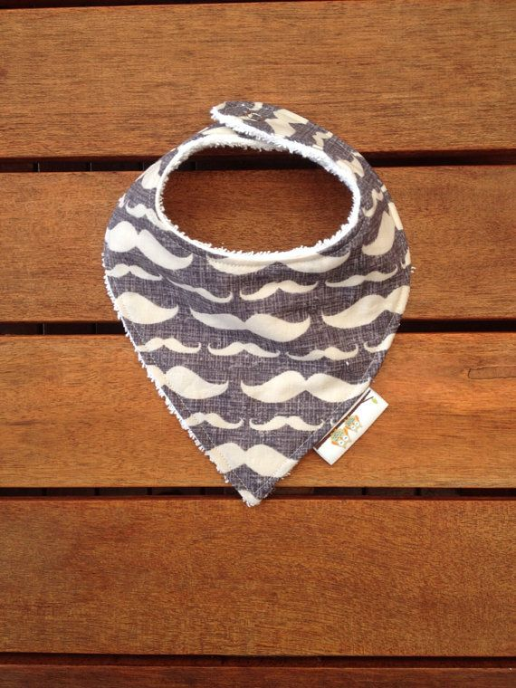 Check out this item in my Etsy shop https://www.etsy.com/listing/187871935/baby-toddler-dribble-bandana-bib-grey