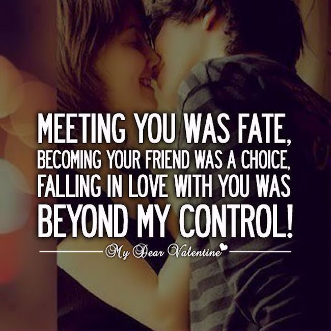 Falling in love with you was beyond my control love love quotes quotes