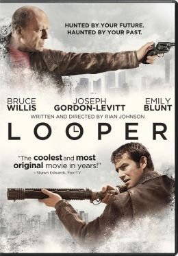 In the futuristic action thriller Looper, time travel will be invented - but it will be illegal and only available on the black market. When the mob wants to get rid of someone, they will send their target 30 years into the past where a 'looper' - a hired gun, like Joe (Joseph Gordon-Levitt) - is waiting to mop up. Joe is getting rich and life is good - until the day the mob decides to 'close the loop,' sending back Joe's future self (Bruce Willis) for assassination.