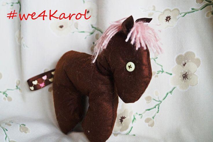 #we4Karol Drawing Chellenge =sewing chellenge!  Konik dla Karola, bo Karol potrzebuje pomocy. www.siepomaga.pl/we4Karol