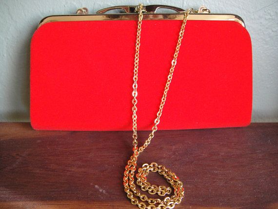 fire engine red clutch