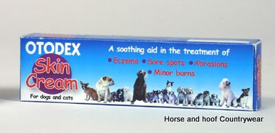 Skin Cream For Dogs And Cats By Otodex
