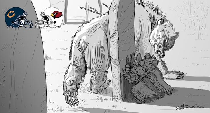 Pixar animator Austin Madison's Fantasy Football sketches