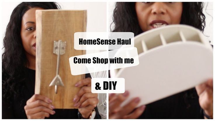 HomeSense Haul, Come Shop with me and DIY