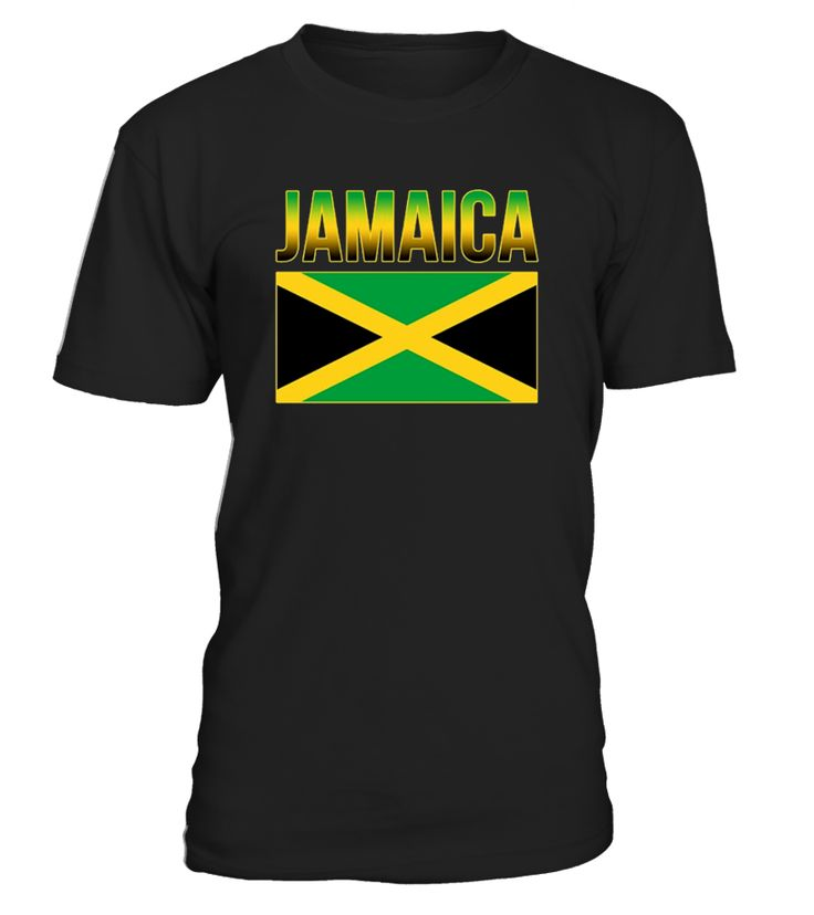 Take pride in the Jamaican National Flag with this cool Caribbean flag tee. This beach tee makes for a great Carribbean souvenir or as a travel gift. Wear your Jamaican pride on the Sixth of August or any day of the year.   From sporting events such as soccar or rugby to the beach, the Jamaican Flag tee will look great and stand out. Or just to add some Rasta or Reggae style to your day.
