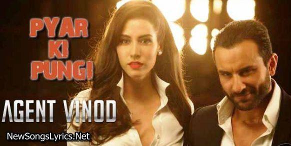 Pyaar Ki Pungi Song Lyrics Agent Vinod Mika Singh Song Lyrics Lyrics Songs