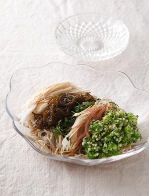 ネバネバ蕎麦