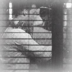 alex and jo- first kiss :)