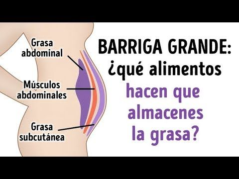 10 Alimentos que debes evitar para tener el abdomen plano