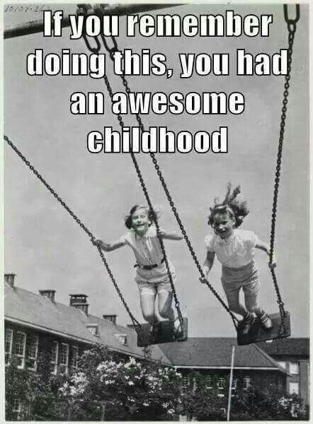 Yes I remember doing this!